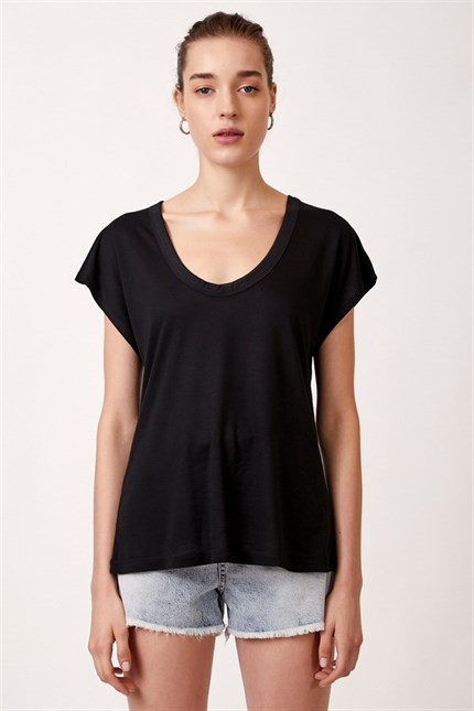 Lyocell Basic T-shirt